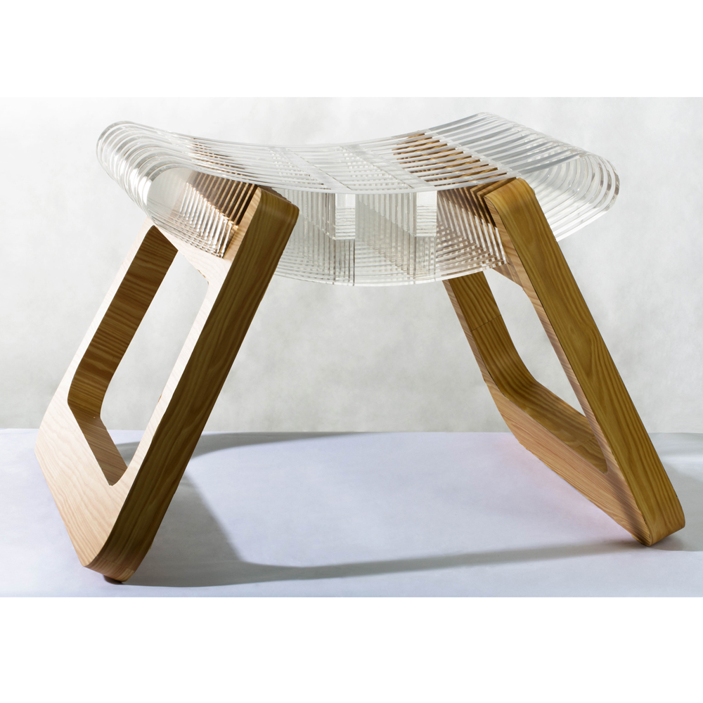clear acrylic sheet for stool