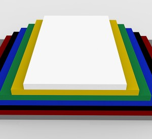 Co-extruded board